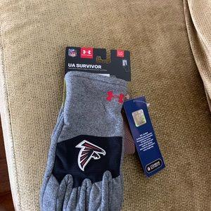 UA Survivor Coldgear Atlanta Falcons Gloves